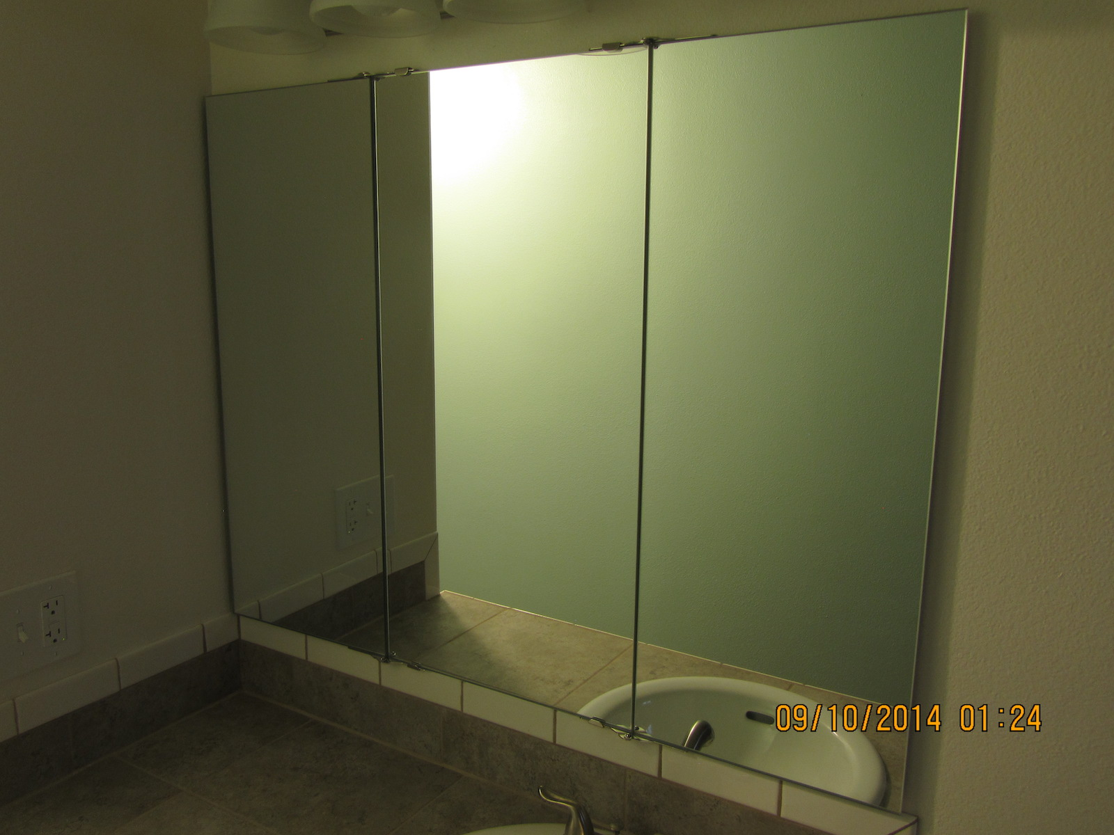 Tri Fold Wall Mirror trifold vanity and wardrobe mirrors