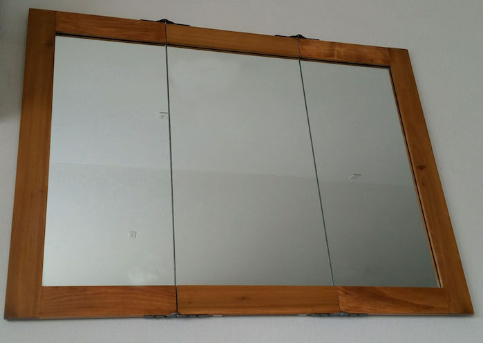The Trifold Mirror Store Diy Mirror Kit