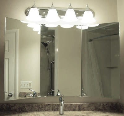 The Trifold Mirror Vanity Mirrors