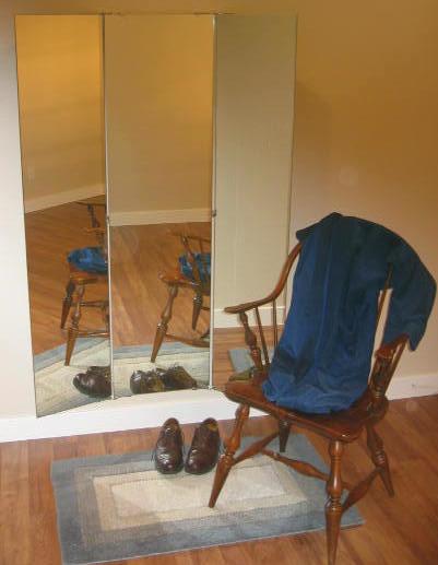 Trifold Vanity And Wardrobe Mirrors